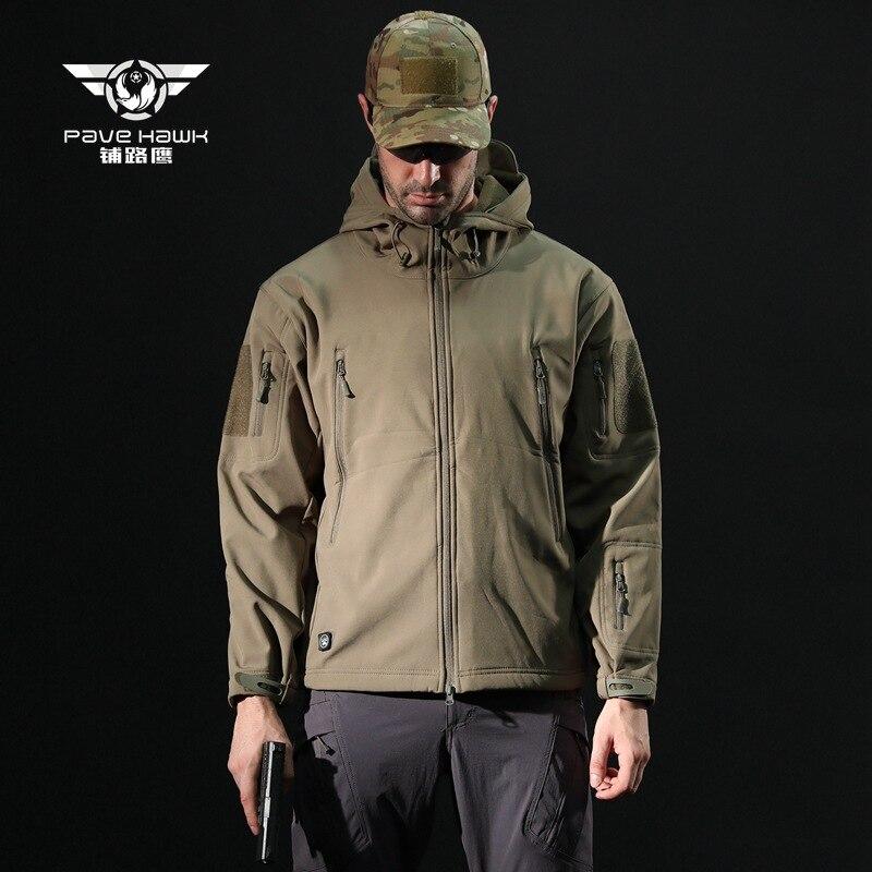 Randonnée en plein air veste tactique militaire veste polaire costume Requin peau soft shell V4.0 lurker tad qualité Camouflage huntingcloth
