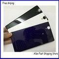 Новый Оригинальный Задний Корпус Задняя Крышка Батарейного Отсека Для Sony Xperia T2 Ultra XM50H D5322 Корпус Анти Пыль Mesh + Логотип