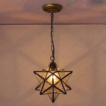 цена на 3W/5W/7W LED Ceiling Light Chandelier Pendant Lamp 8 inch/12 inch E27 Bulb Clear Glass Lampshade Corridor Studio Cafe Lobby