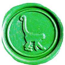 Custom Vintage Long Tail Monkey Picture Logo Wedding Invitation Wax Seal Sealing Stamp Sticks Spoon Gift Box Set Kit