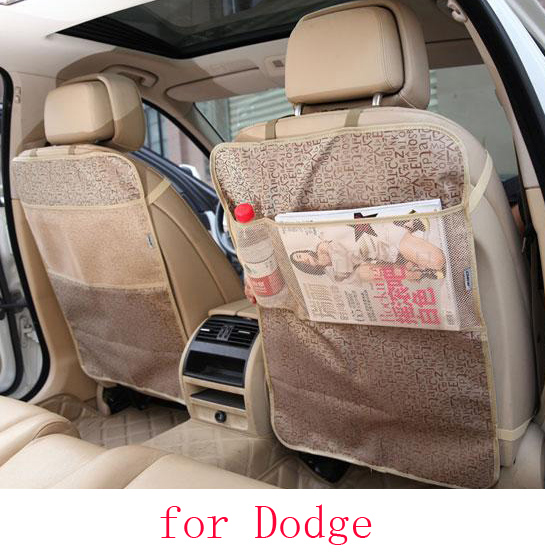 For Dodge Ram charger durango journey car seat covers baby Kick protector mats black beige waterproof car accessories interior