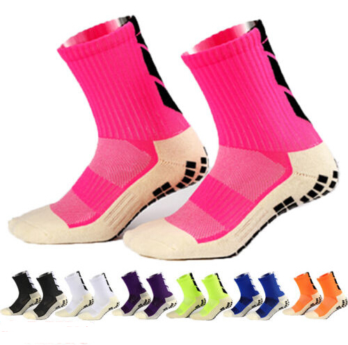 ae9300e53271 7Colors High Quality Same Type As Trusox Football Sock Anti Slip Soccer  Socks Men Sports Gym Run Fitness Socks Cotton Calcetines