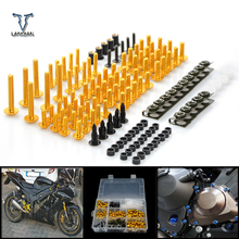 CNC Universal Motorcycle Fairing/windshield Bolts Screws set For KTM 1190 adventure /1190 r 690 Duke 990 superduke