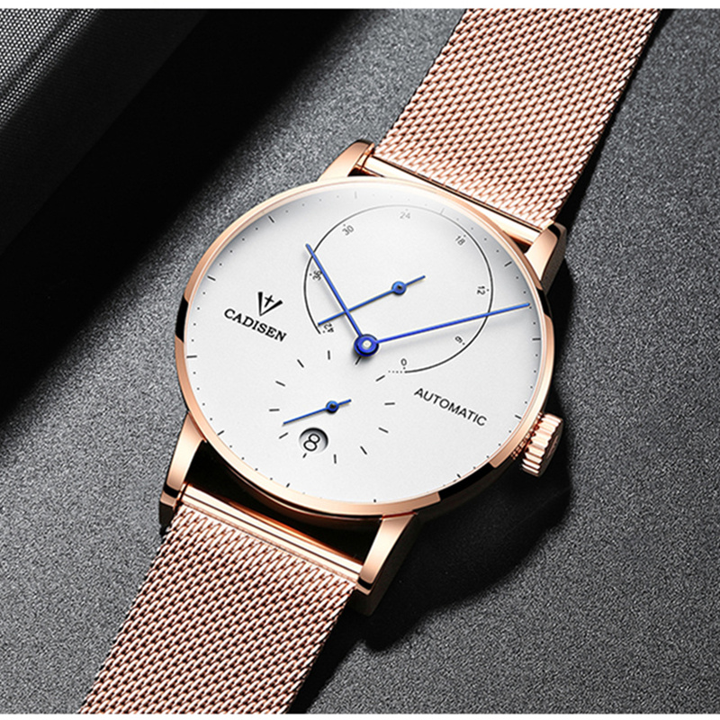 2019 Luxury Men 39 s Watches Automatic Mechanical Watch Top Brand Business Watches Clock Waterproof 50M Relogio Masculino Man Gift in Mechanical Watches from Watches