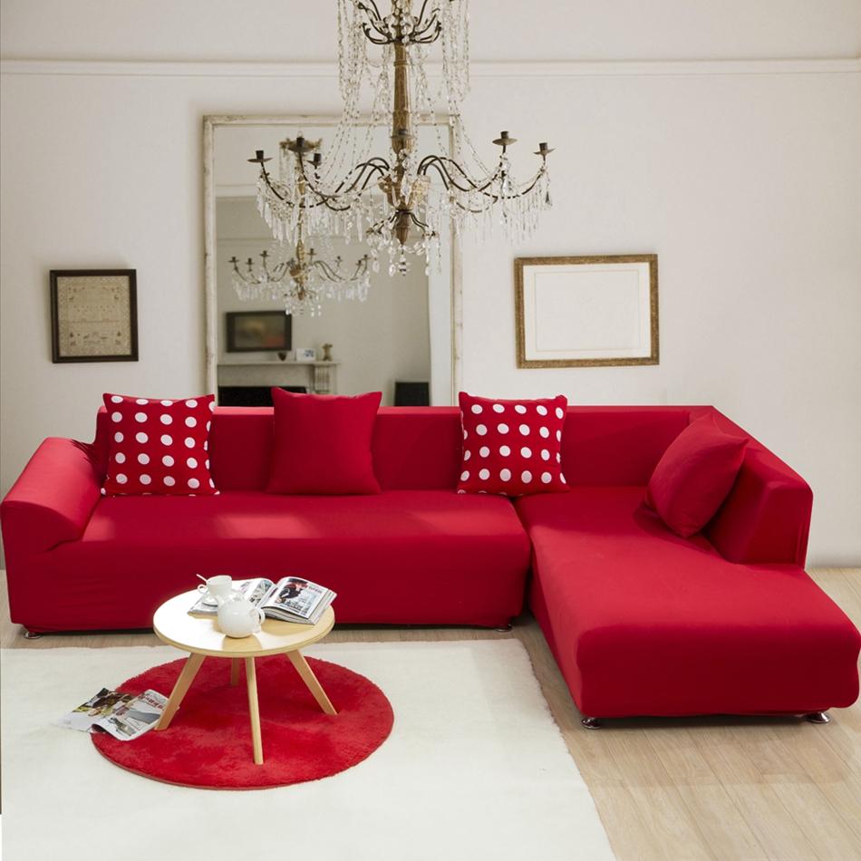 sofa schonbezug-kaufen billigsofa schonbezug partien aus china ... - Wohnzimmer Sofa Rot