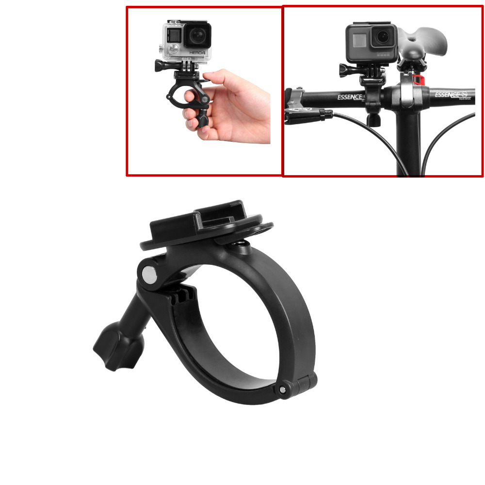 Gopro Roll Bar Mount >> Us 10 98 Gopro Accessories Bike Bicycle Motorcycle Handlebar Seatpost Clamp Roll Bar Mount Holder For Gopro Hero Action Camera In Sports Camcorder