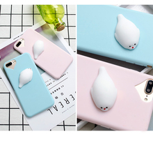 Squishy Cat Case For iPhone