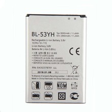 Original High Capacity BL-53YH Battery for LG Optimus G3 LS990 VS985 D830 D850 D851 D855 F400 3000mAh yiboyuan bl 53yh replacement 3000mah li ion battery for lg g3