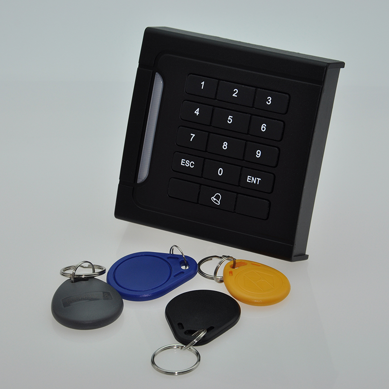 ST-N14 RFID Waterproof IP67 Weigand26/34 EM ID 125KHz Door Access Control Card Reader ip65 waterproof door access control card reader weigand26 125khz rfid color attention light em id card reader