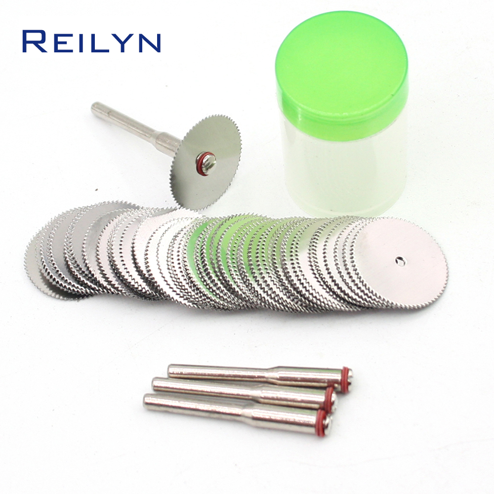Free Shipping 80 Pcs Stainless Steel Saw Blade 22mm X 3mm Dremel/rotary Tool Mini Saw Bit Cutting Wood/plastic/metal