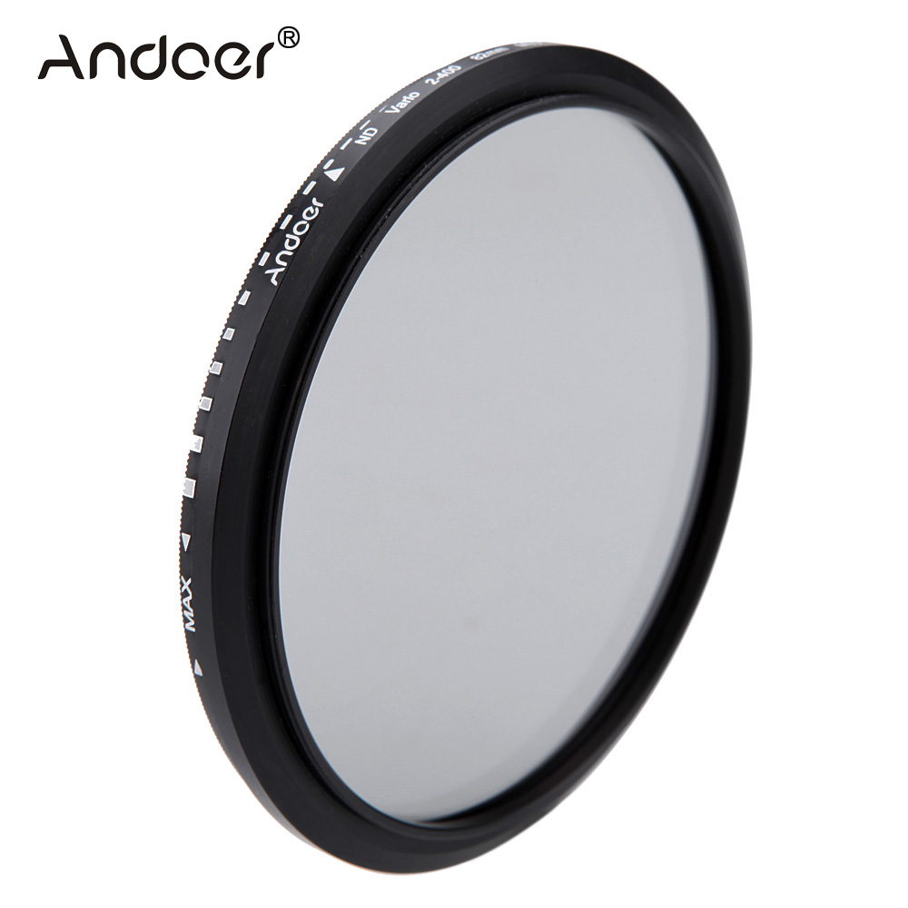 Camera /& Photo 82mm ND Fader Neutral Density Adjustable Variable Filter ND 2 to ND 400 Filter Camera Filters