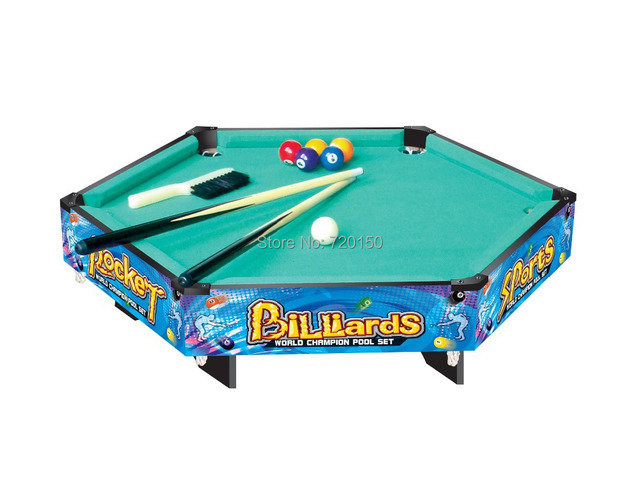 US $273.0 |French Billiard Table,children Snooker Game,hexagon Style  Snooker Toys,colour Painting Pool Table,6 Days To House In Snooker U0026  Billiard ...