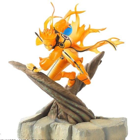 JHACG 25cm Naruto Uzumaki Naruto Sennin mode Action figure toys doll Christmas gift no box