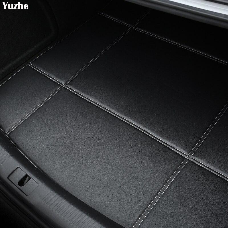 Yuzhe Car Trunk Mats For Nissan X-trail t31 T32 Tiida Juke Teana Qashqai J10 murano Waterproof Boot Carpets car accessories