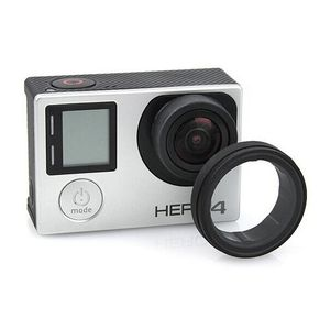 Image 1 - Anti exposed lens frame Protective Lens Cover HR253 for GOPRO HERO 3+/4 Camera Accessories