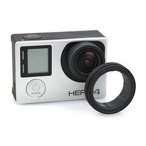 Image 1 - إطار عدسة مضاد للتعرض واقي غطاء للعدسات HR253 لـ GOPRO HERO 3 +/4 (أسود)