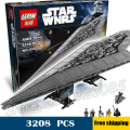 3208 unids bela 05028 new star wars super star destroyer regalos ladrillos compatible con lego monta los bloques huecos