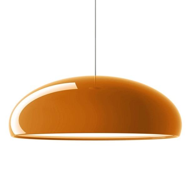 Smooth Aluminum Pendant Lights White Black Orange Lamp For Living Room Bedroom Lighting Fixtures Suspension Pl311 In From