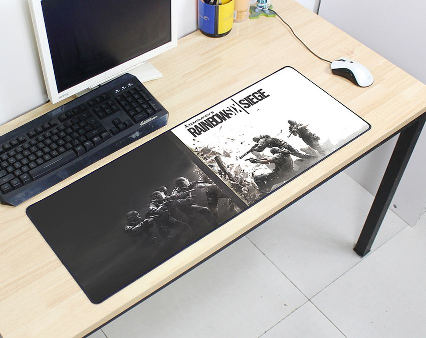 Rainbow Six Siege mousepad 800x300x2mm pad to mouse computer mouse pad best seller gaming padmouse gamer