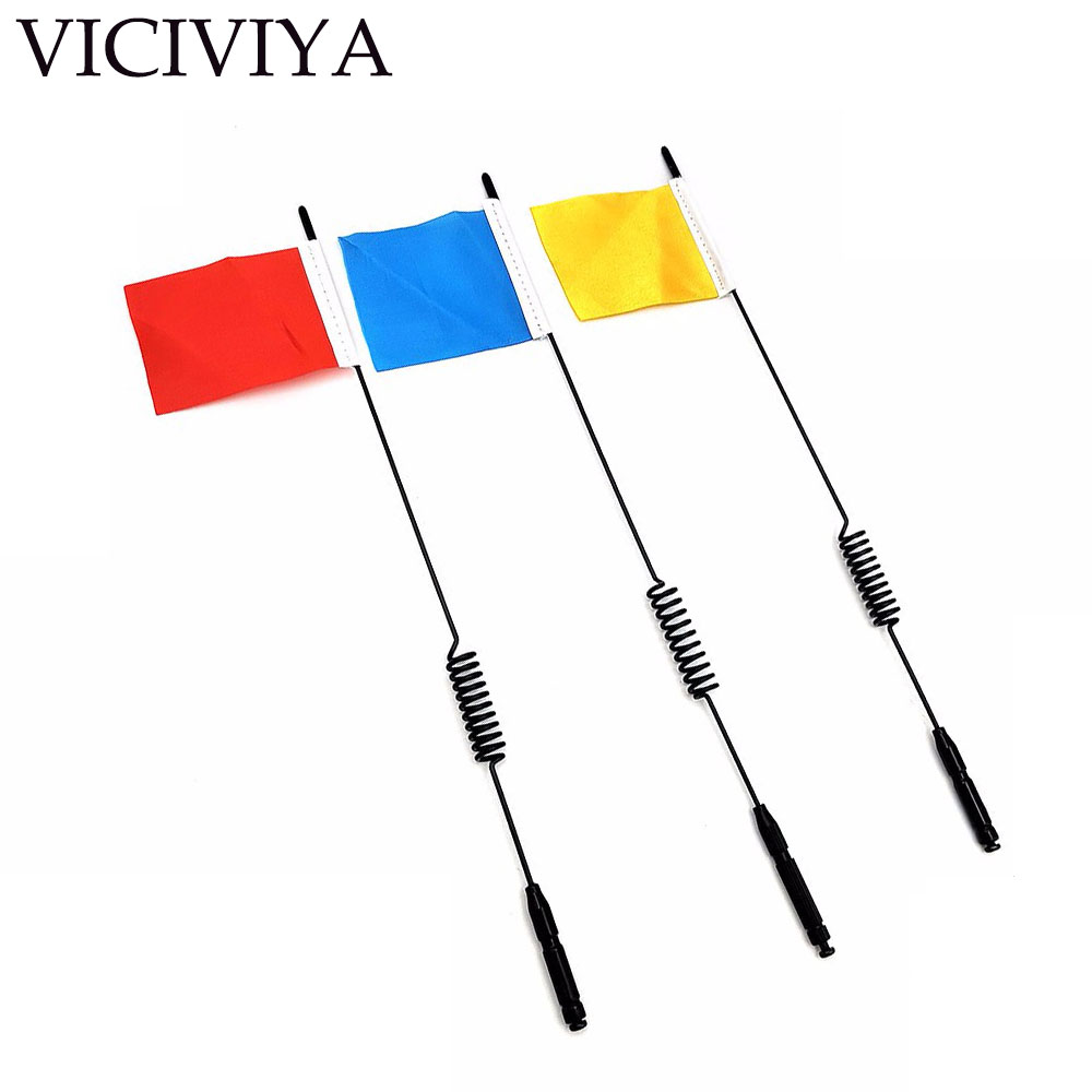 Remote Control Toys Hospitable Viciviya Rc Car Metal Antenna With Flag 289mm Decorative For 1/10 Rc Crawler Traxxas Trx-4 D90 Axial Scx10 Be Friendly In Use