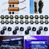 Dimmable DIY Aquarium Led Light 60W 20 3W Good For Coral Reef Tank Lighting High Quality