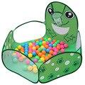 As crianças podem atirar o sapo interior e exterior tenda oceano piscina de bolinhas casa jogo do bebê dobrável tendas de brinquedo brinquedos do bebê
