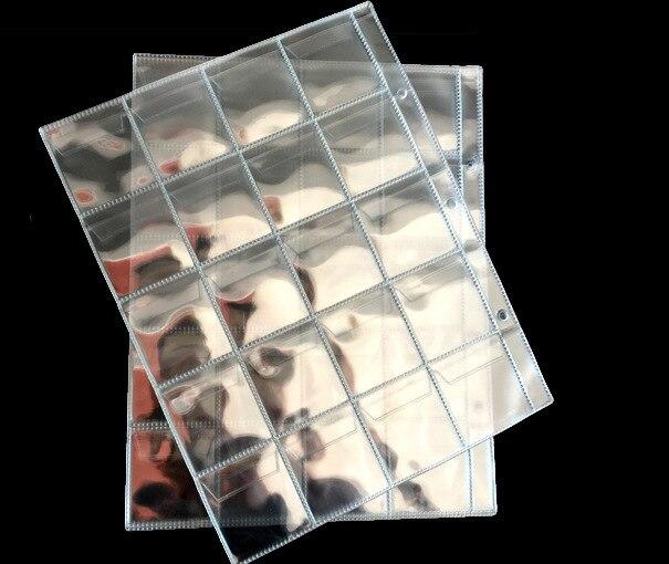 หน้าอัลบั้ม20 30 42กระเป๋าเงินบิลหมายเหตุสกุลเงินเหรียญผู้ถือคอลเลกชันพีวีซีวัสดุหน้าขนาด250มิลลิเมตรx 200มิลลิเมตร
