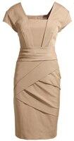 Plus size XXXL Elegant OL Outfit Slim Dress Kate Dress England European Style Female Fashion Solid Color