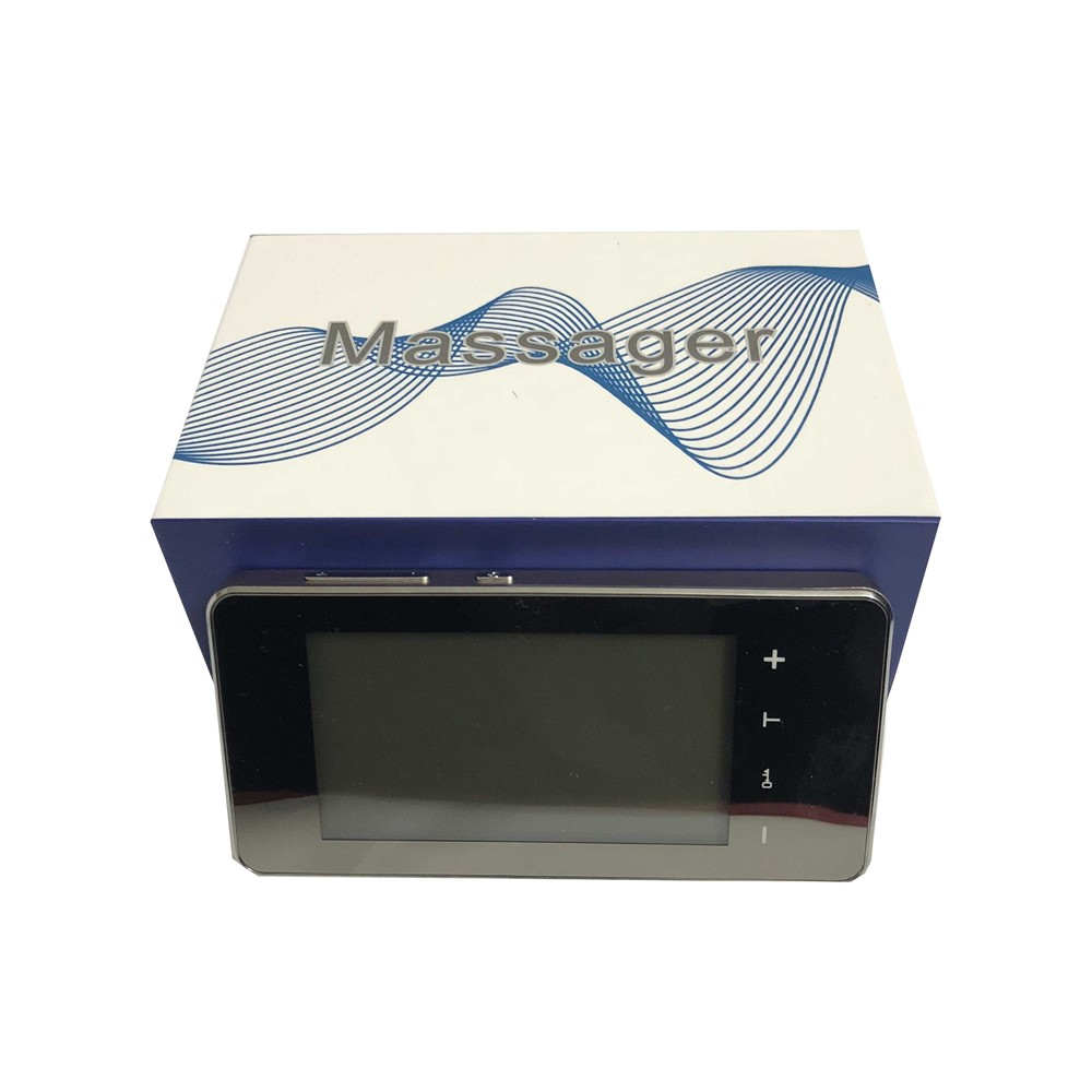 CE FDA New 2 channel Touch Screen smart TENS.EMS Unit Electronic Pulse Massager 12 mode ElectroTherapy device pulse massager LED прорезыватель bright starts динозаврик желтый 52029 2