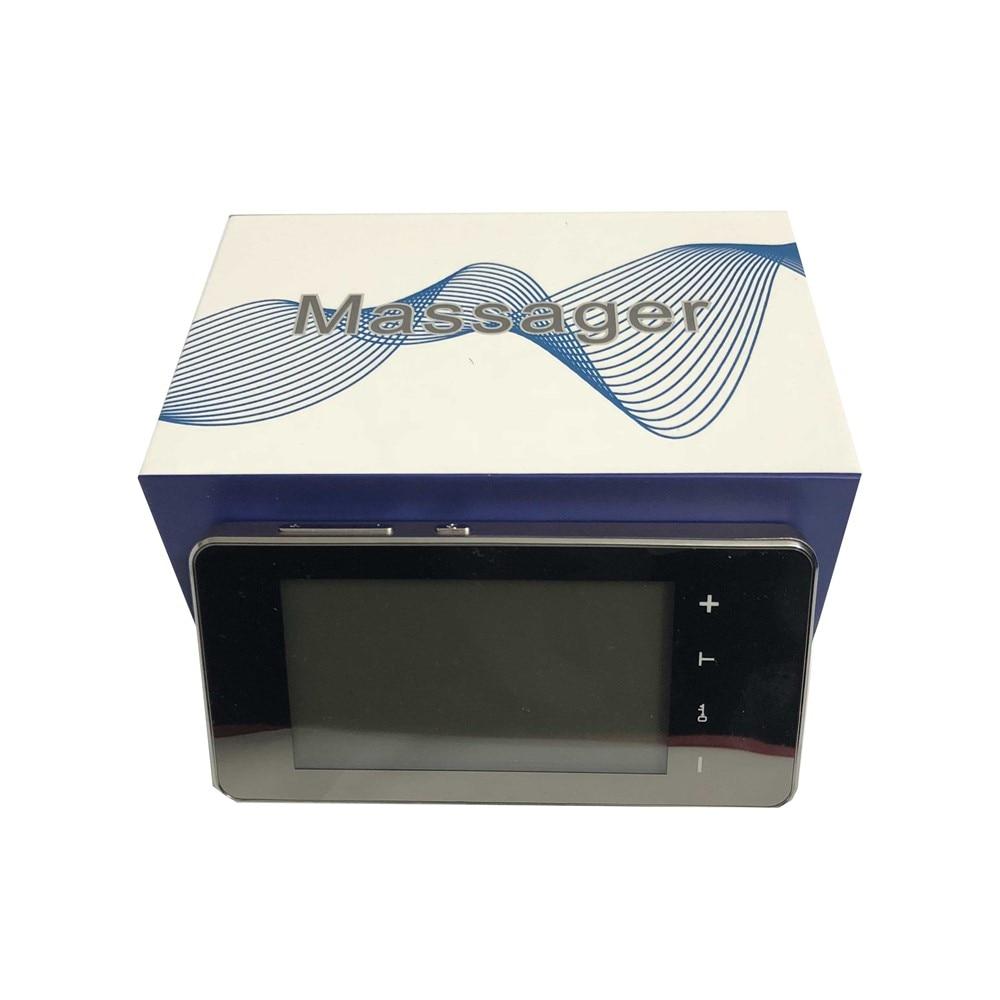 CE FDA New 2 channel Touch Screen smart TENS.EMS Unit Electronic Pulse Massager 12 mode ElectroTherapy device pulse massager LED серетид мультидиск порошок для ингаляций 50мкг 100мкг 60доз