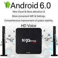 Docooler M9S PRO Smart Android 6 0 TV Box Amlogic S905X UHD 4K 2G 16G Mini