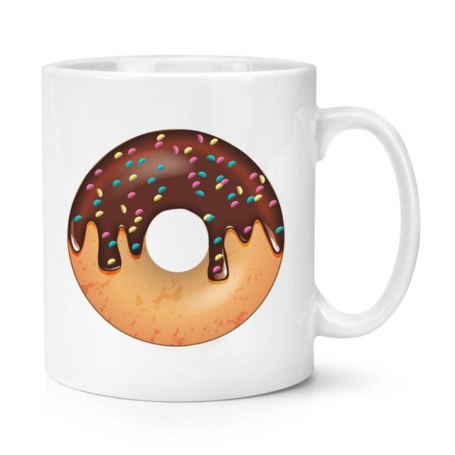 04c70f89869 US $11.9 |doughnut donut mugs beer cup coffee mug ceramic tea cups home  decor kitchen decal novelty mugen friend gift birthday gifts-in Mugs from  Home ...