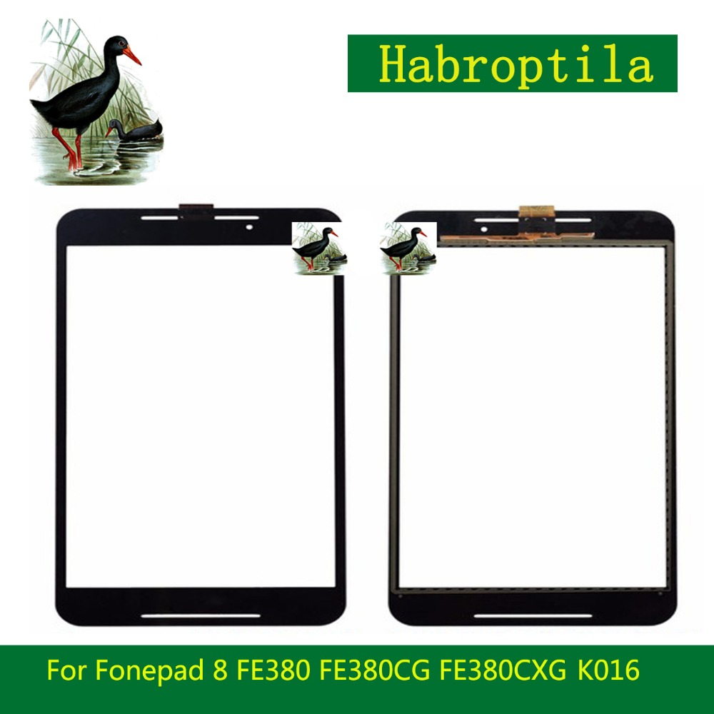 8.0 For Asus Fonepad 8 FE380 FE380CG FE380CXG K016 Touch Screen Tablet Digitizer Sensor Outer Glass Lens Panel+Tracking