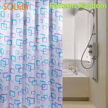 Nordic Shower Curtain Geometric style Waterproof Block Bath Curtains Bathroom For Bathtub Bathing Cover Accessiories