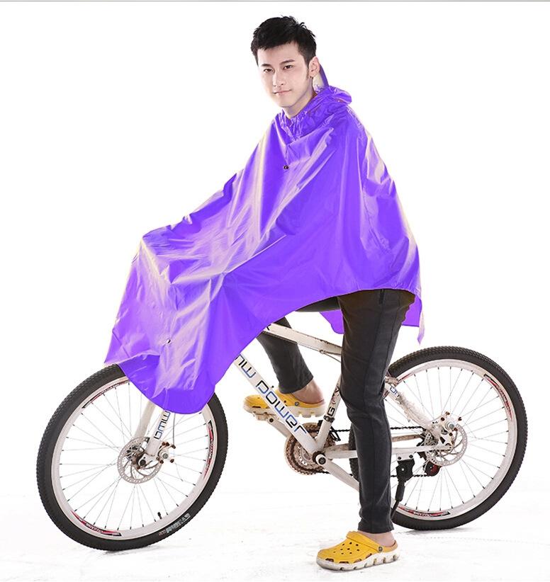 Motocicleta de la bicicleta bicicleta de adulto impermeable Conjoined montaña sola persona hombre mujer Electrombile Impermeables de Gran Tamaño YY172
