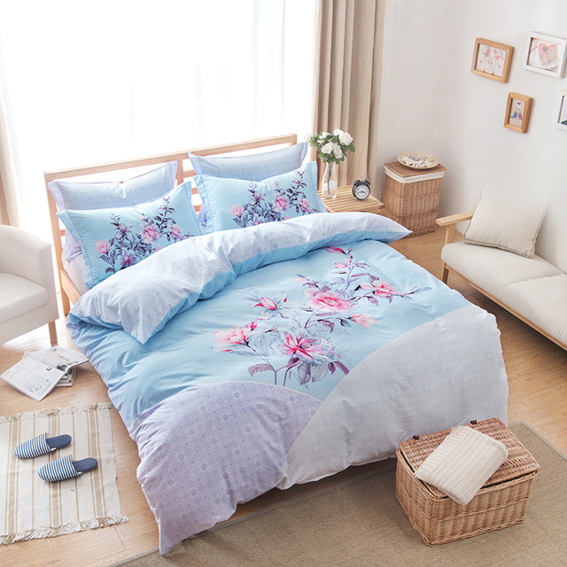 blue queen me light sets runclon and gray comforter set