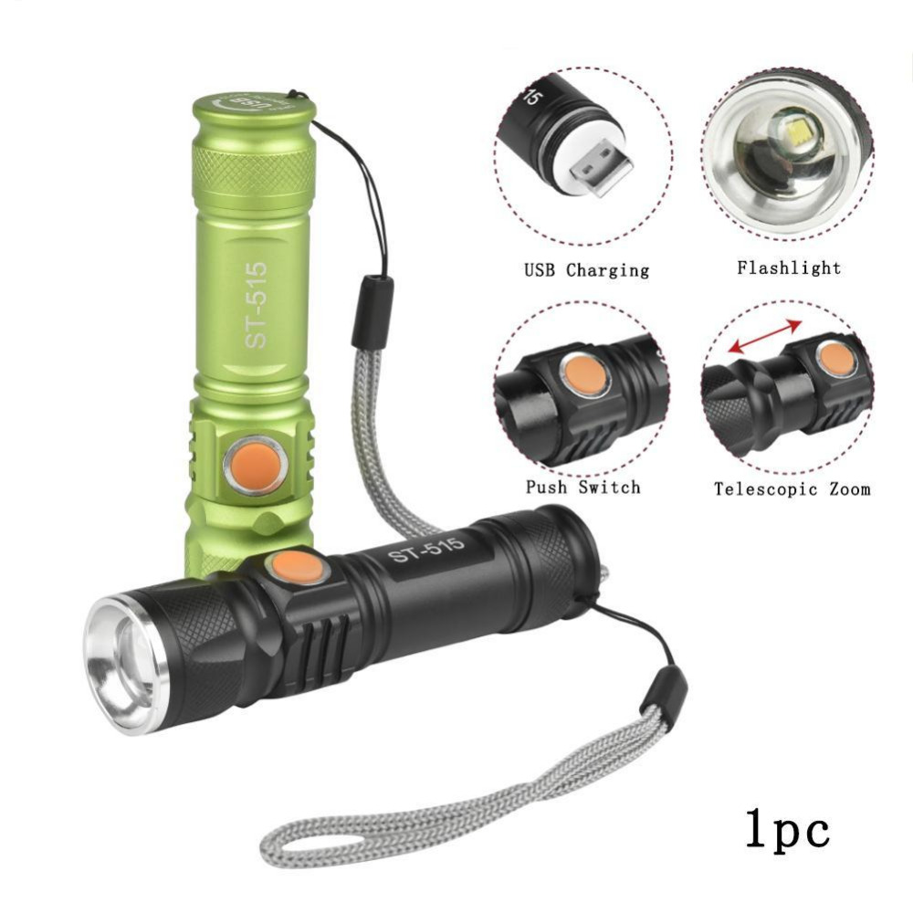 Zoomable T6 LED Light 8000 LM Tactical USB Rechargeable Flashlight 3 Mode Mini Lamp Torch Zoom Adjustable Lantern Camp A609 1pc mini keychain pocket torch usb rechargeable light flashlight lamp 0 5w 25lm multicolor mini torch new arrival