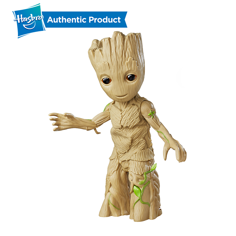 Hasbro Marvel Guardians of the Galaxy Dancing 11.5Inch Groot Manual model Collecting Action FiguresHasbro Marvel Guardians of the Galaxy Dancing 11.5Inch Groot Manual model Collecting Action Figures