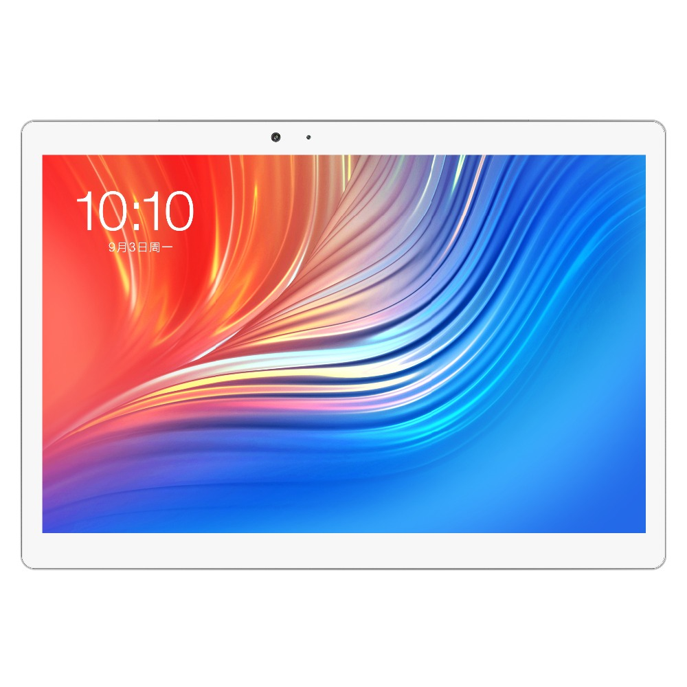 Teclast T20 4G Telefone MT6797 X27 Deca Núcleo 4 GB ROM + 64 GB RAM 10.1 polegada de Reconhecimento de Impressões Digitais android 7.0 GPS Dupla WiFi Tablet PC