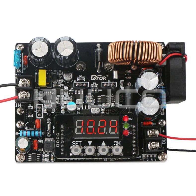 Module d'alimentation DC10V ~ 75 V à 0 ~ 60 V 12A 720 W convertisseur Buck/régulateur de tension CNC Module de contrôle DC 12 V 24 V 36 V 48 V