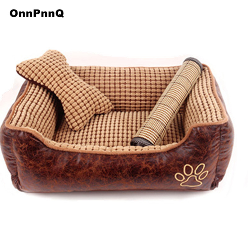 New 3 size dog beds for large dogs washable luxury dog bed ...