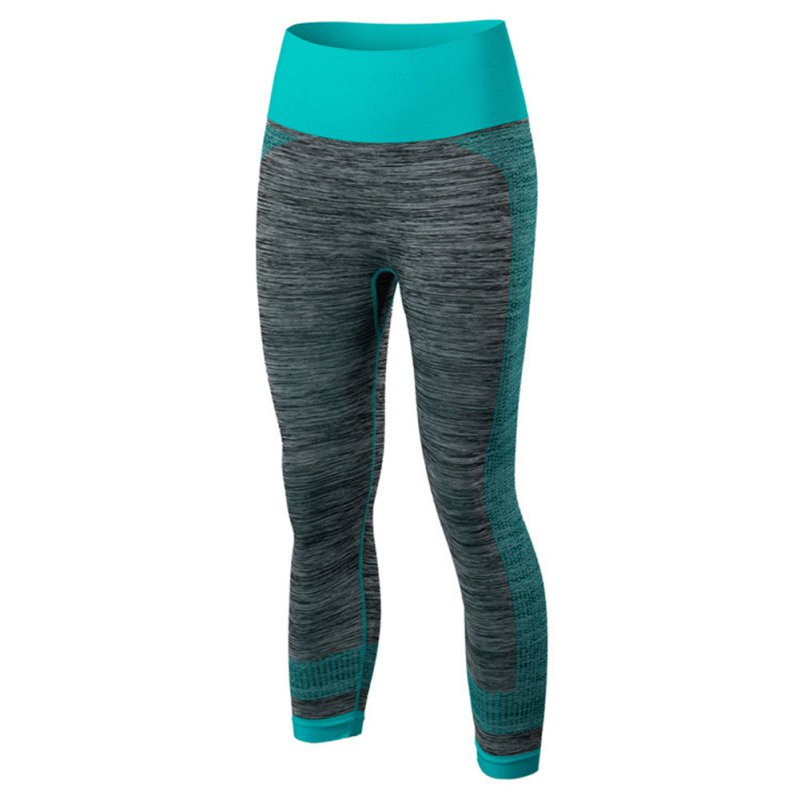 Womens Fitness Leggings Stretch Gym Running Yoga Sports Cropped Pants Fast Dry Running Pants New