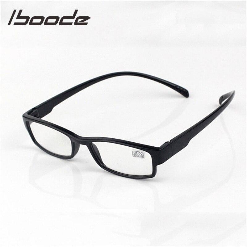 IBOODE TR90 Long Temple Hanging Neck Reading Glasses Women Men Presbyopic Eyeglasses Female Male Hyperopia Eyewear Spectacles