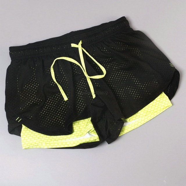 Aipbunny Women Breathable Mesh Gym Yoga Shorts Training Sportwear Jogging Cycling Fitness Workout Short Athletic Workout Clothes 6