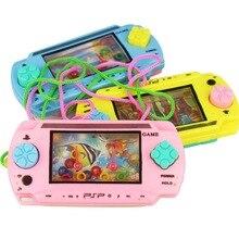 Классическая игрушка, винтажная водная игровая машина, поделитесь памятью в детском возрасте, забавная способность развить вызов, кольцо, игра для детей, любимая игрушка
