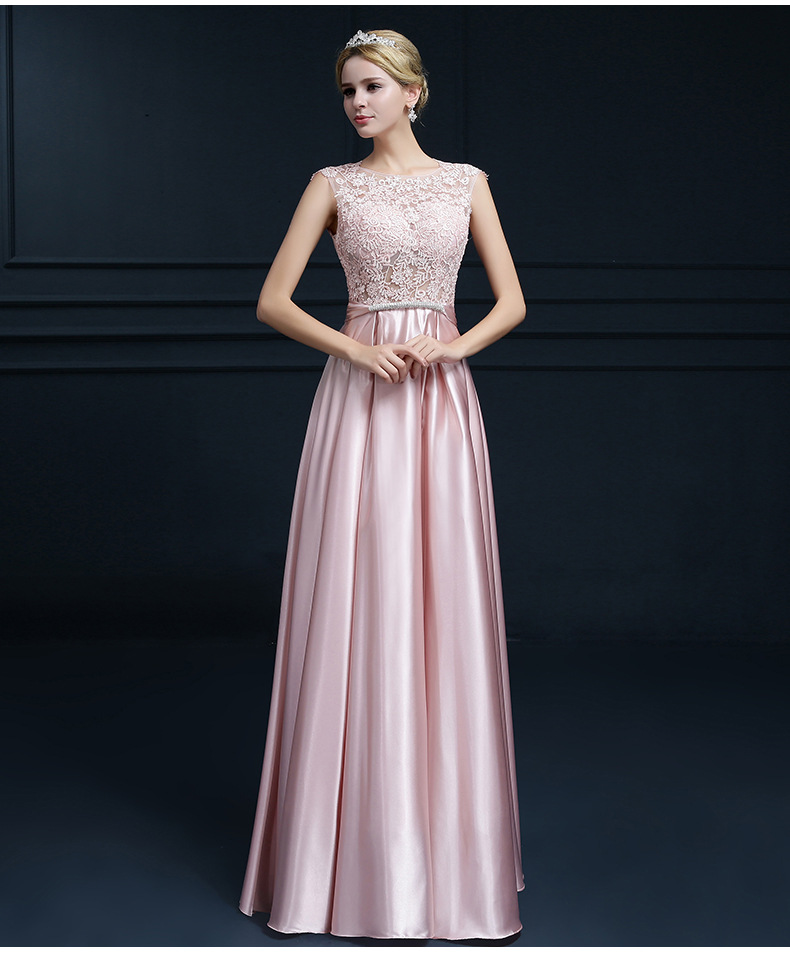 bb38ef1222fef Popodion Long style sister bridesmaid dresses dress for wedding ...