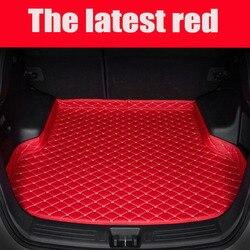 Custom fit kofferbak matten voor Chevrolet Captiva Trax Malibu Cruze accessoires 5D tapijten waterdicht tapijt liners