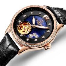Women Watches Carnival Luxury Brand Watch Women Automatic Mechanical Wrist Watch Sapphire Waterproof relogio feminino C0682-3