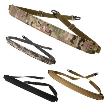 2 Two Point Dilated Shoulder Rifle Strap Adjustable Bungee Tactical Airsoft Paintball Gun Sling Hunting  Accessories