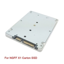 NGFF SATA 20+6PIN to SATA 3.0 2.5 inch Hard Disk Case Enclosure for Sandisk 45N82 45N8296 45N8422 & SSD Lenovo X1 Carbon